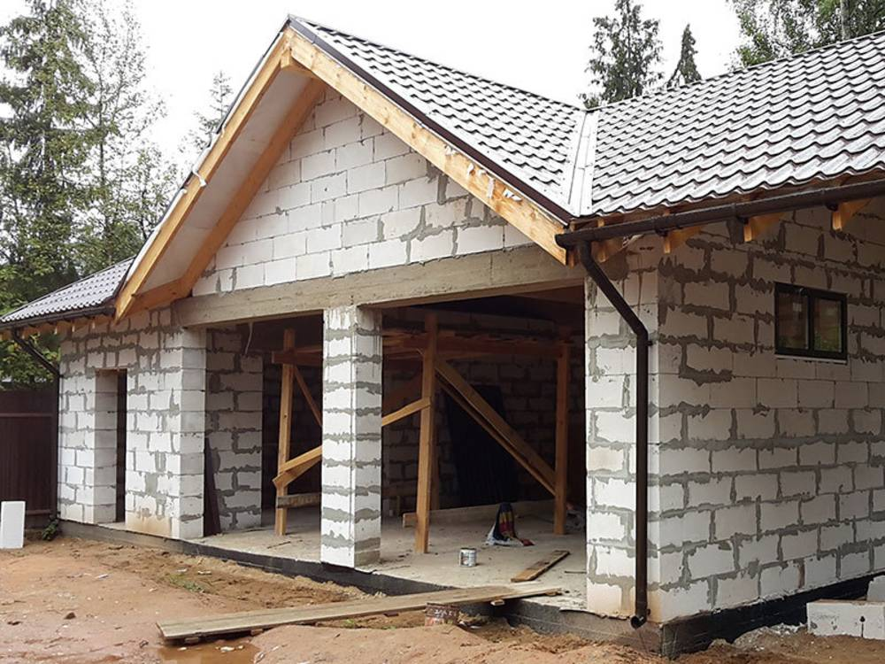 Как построить гараж из пеноблоков своми руками: пошаговая инструкция