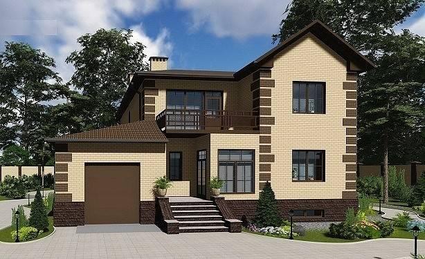 Дом из кирпича - 100 фото подробной инструкции и описание основных этапов строительства