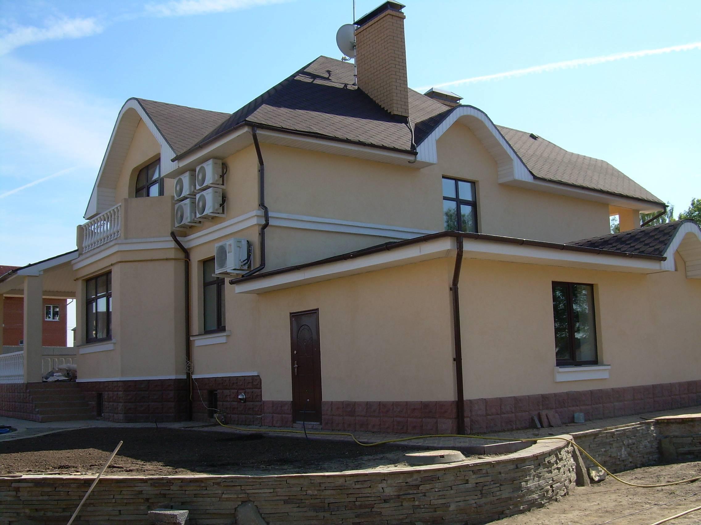 Строительство загородных домов коттеджей под ключ в москве и подмосковье