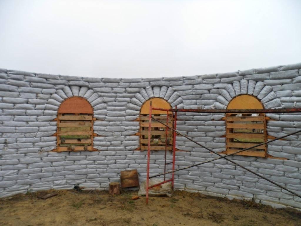 Глинобитный дом своими руками. история саманных домов