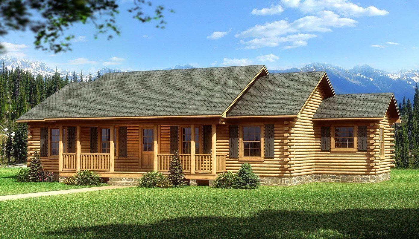 ???? одноэтажные дома из бруса: варианты проектов и их преимущества