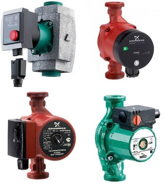 Как подобрать циркуляционный насос для системы отопления - расчет производительности и рабочего давления в контуру