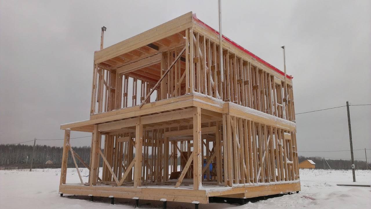 Можно ли строить дом зимой: особенности, сложности, плюсы и минусы
