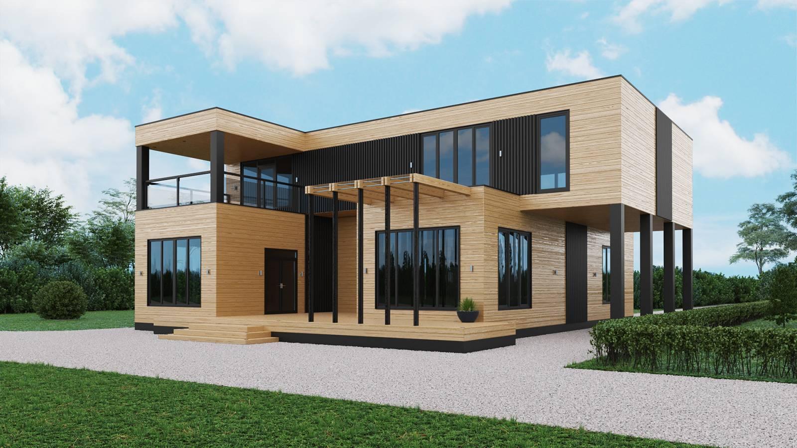 Хай-тек: проекты домов и способы отделки фасада с пошаговыми инструкциями