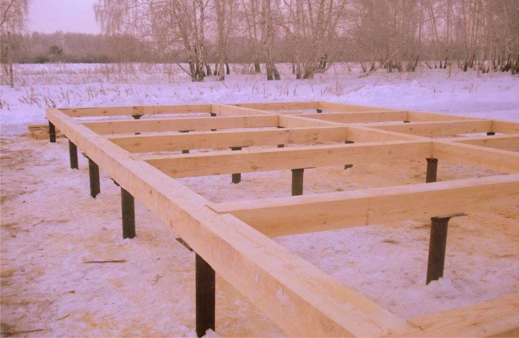 Проекты и строительство дома на сваях