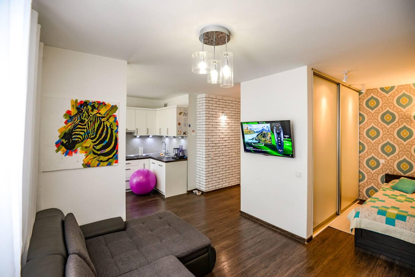 Ремонт однокомнатной квартиры: дизайн + идеи   gd-home.com