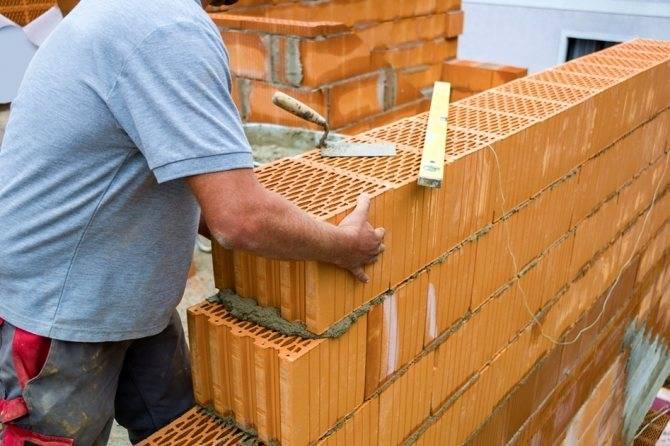 Размеры керамических блоков, поризованных керамоблоков