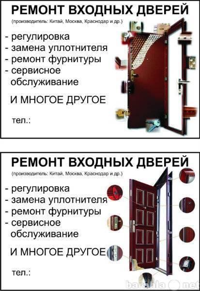 Как регулировать входную железную дверь?