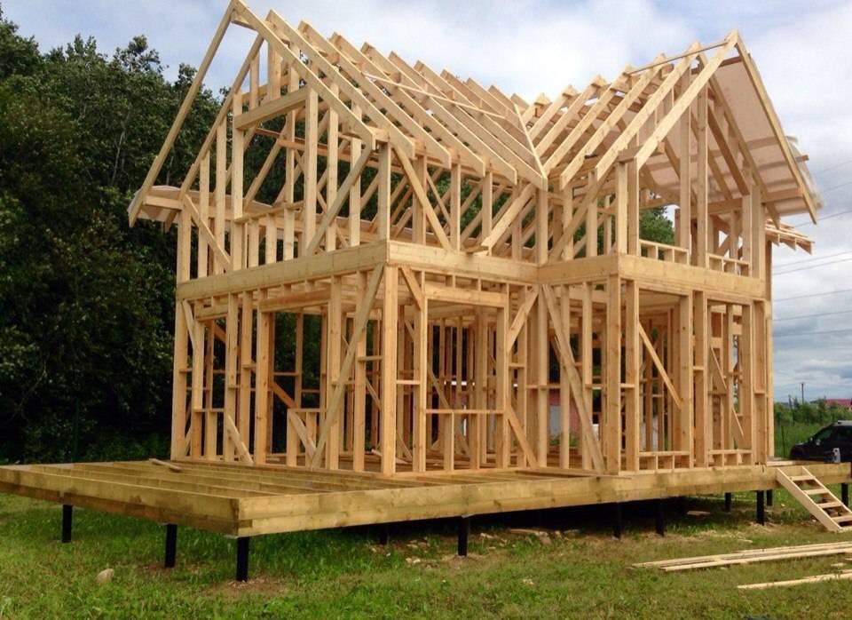 Подробная технология строительства каркасного дома