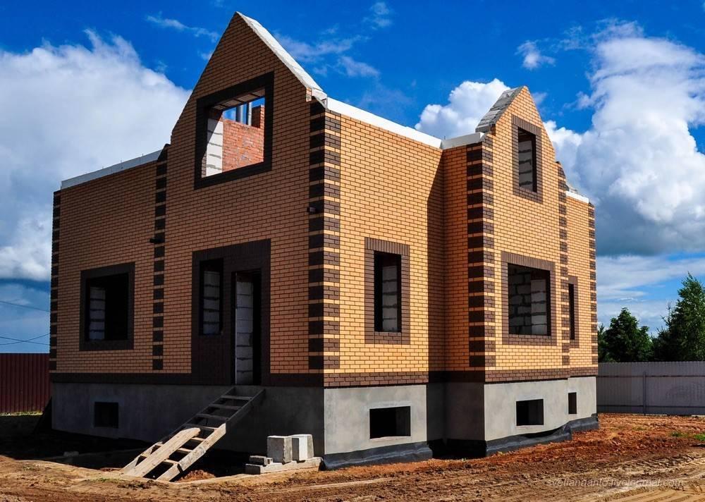 Кирпичный дом своими руками – строим дом из кирпича, поэтапная инструкция