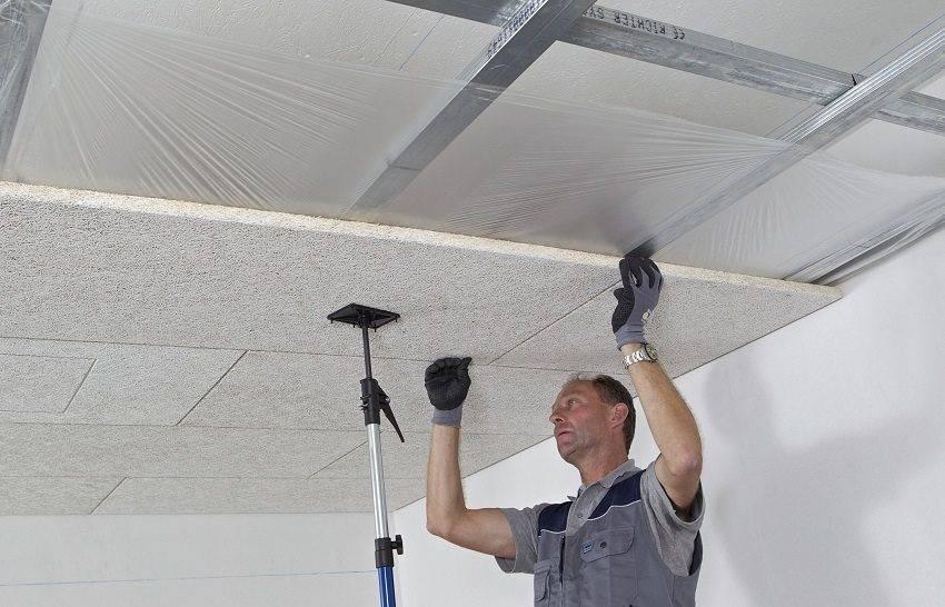 Шумоизоляция потолка в квартире: современные материалы (19 фото)