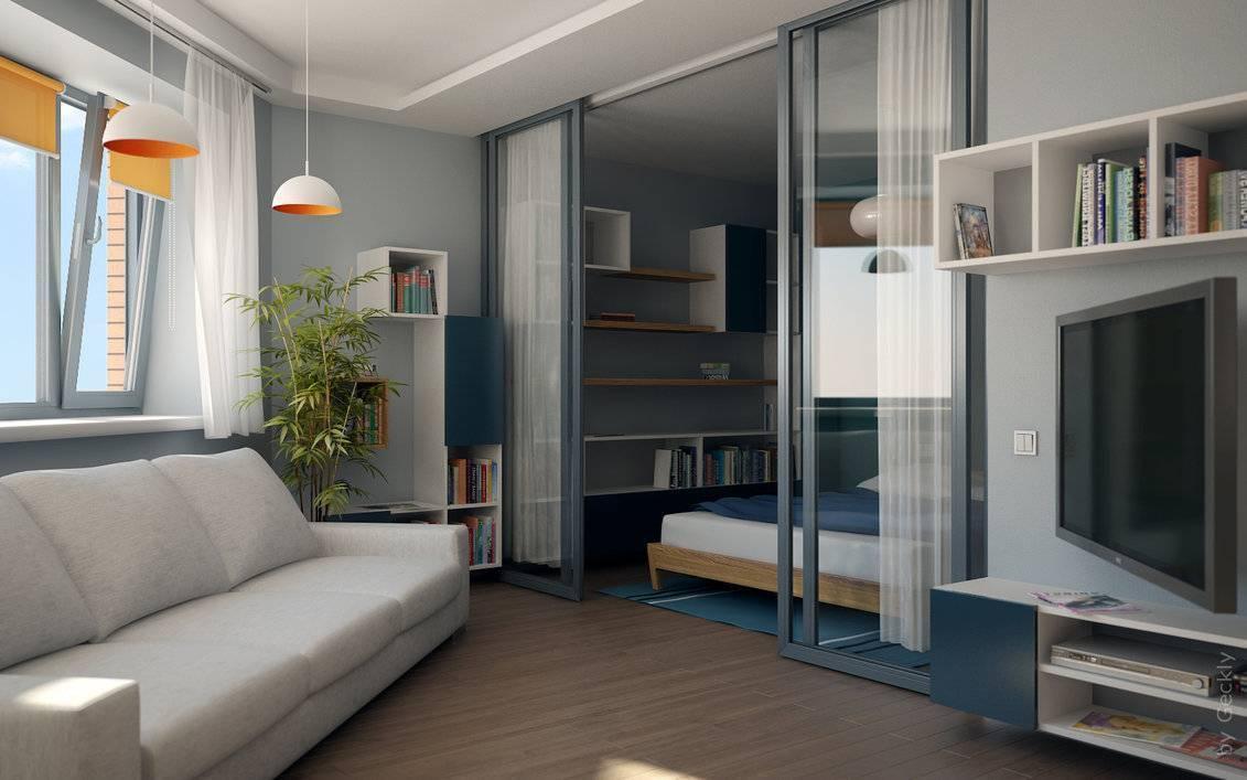 Дизайн маленькой квартиры-студии