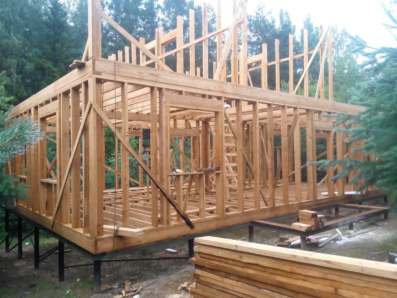 Каркасный дом своими руками: ???? пошаговая инструкция 6х6 по строительству и утеплению