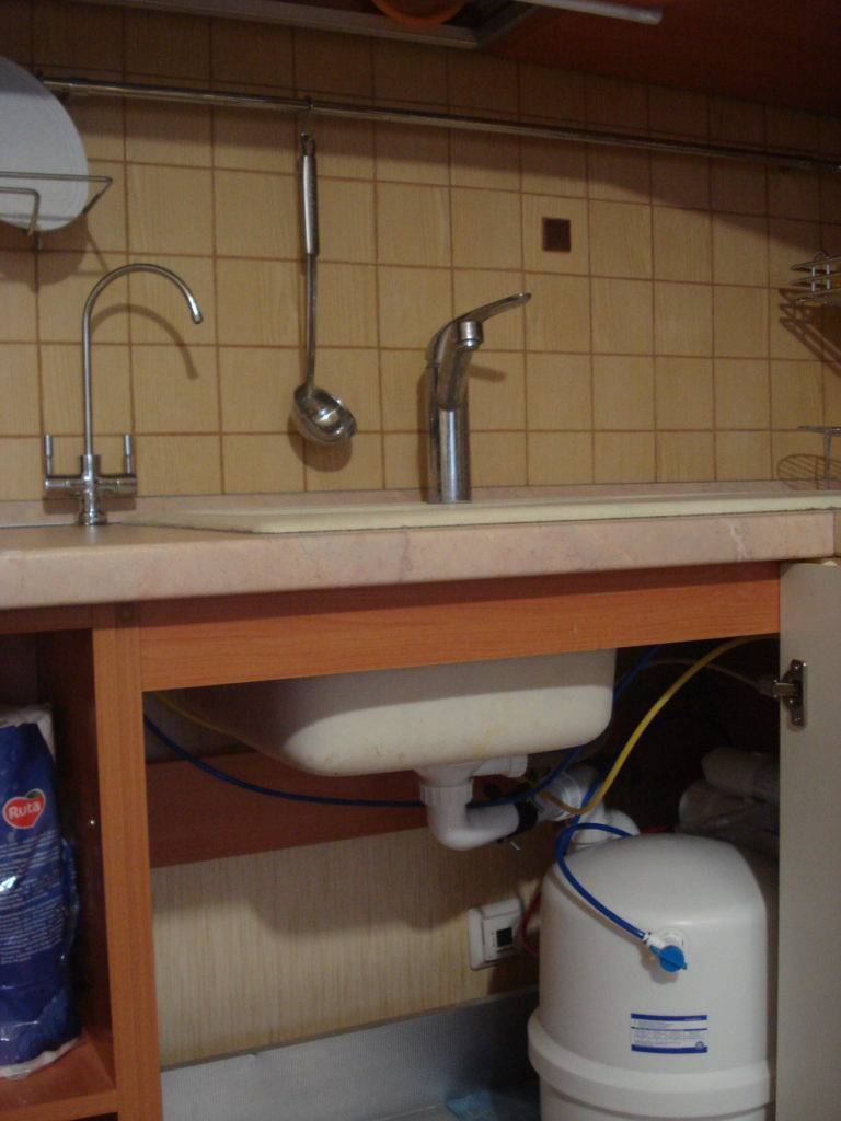 Фильтры для воды под мойку какие лучше, проточный фильтр