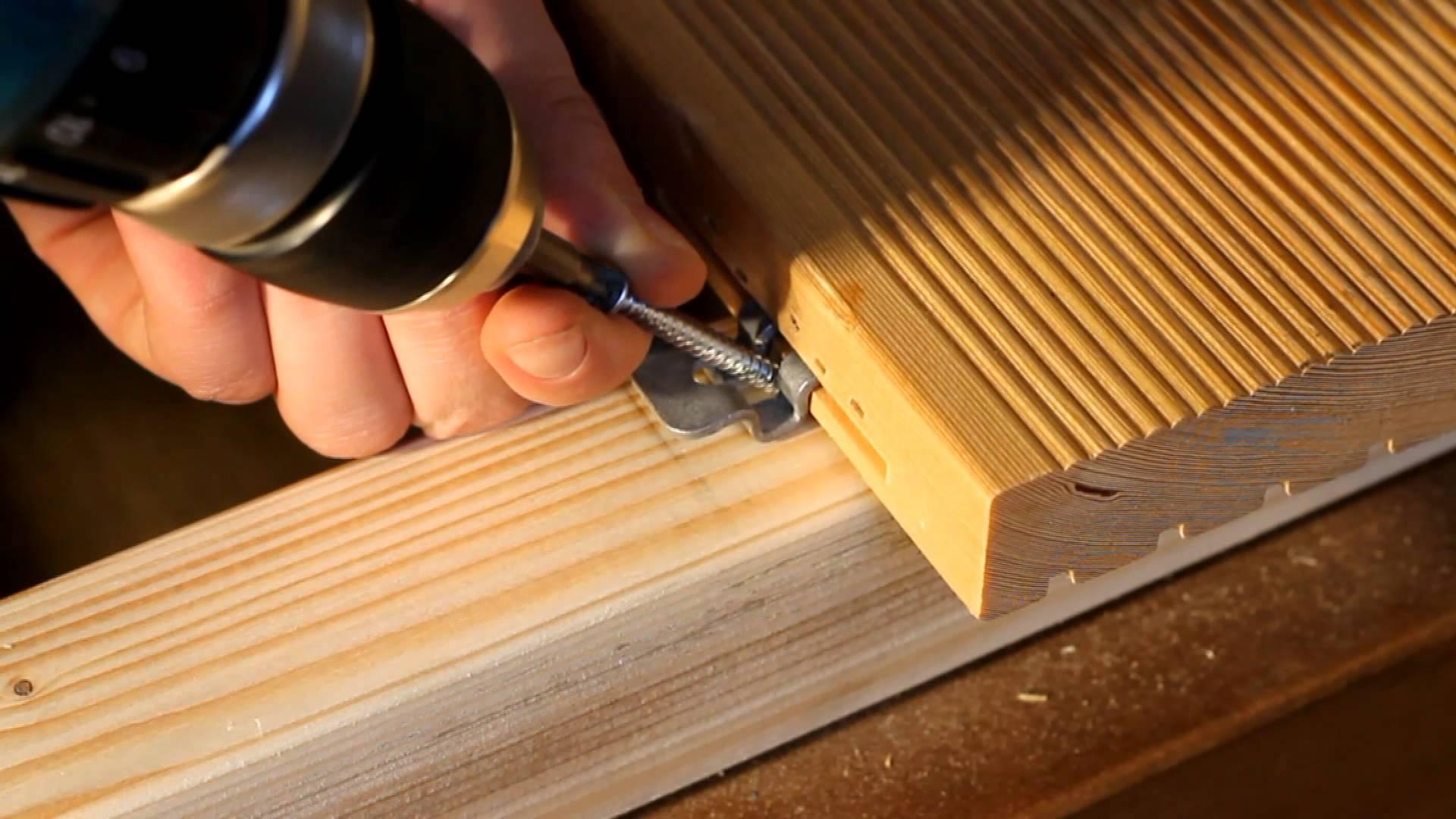 Сорта террасной доски из лиственницы: как укладывать, чем обработать +видео