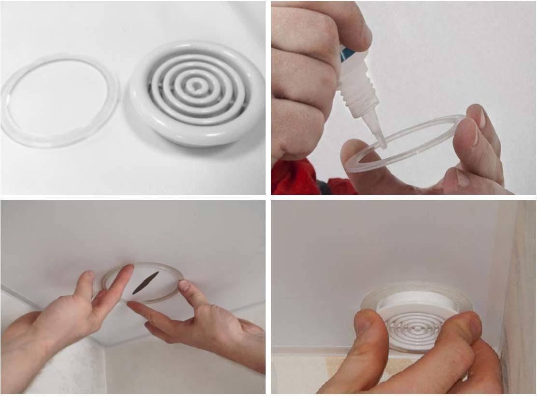 Как заделать дырку в натяжном потолке своими руками?