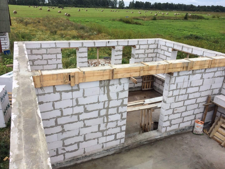 Дом из блоков своими руками - строительство блочного дома | стройсоветы