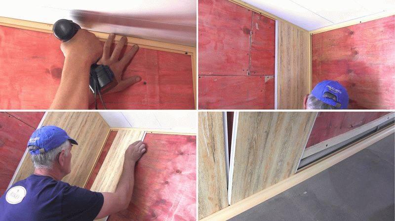 Как крепить панели пвх к стене +75 фото примеров
