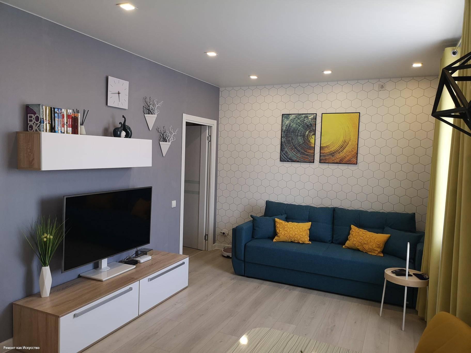 Ремонт однокомнатной квартиры: от фото до готового интерьера