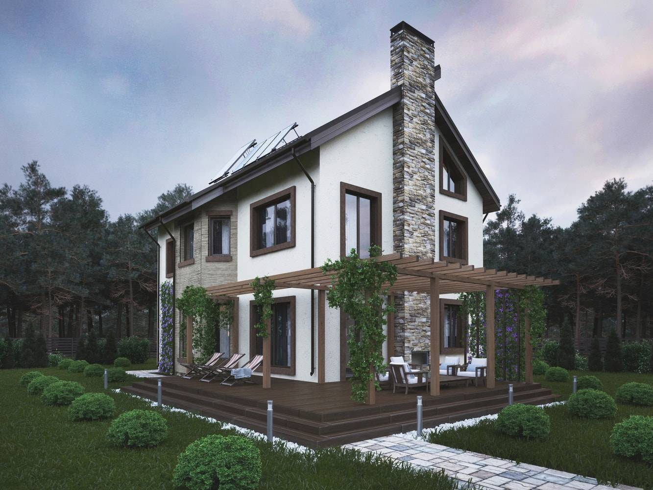 Одноэтажный или двухэтажный дом плюсы и минусы — журнал теремъ