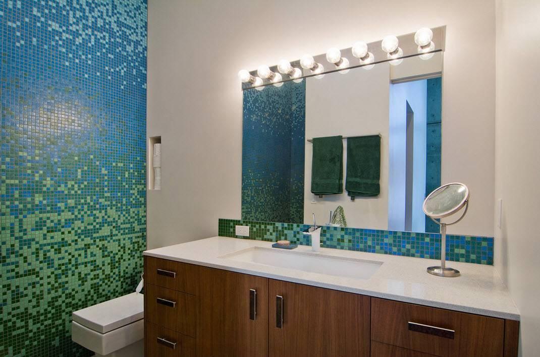 Чем отделать стены в ванной комнате кроме плитки?