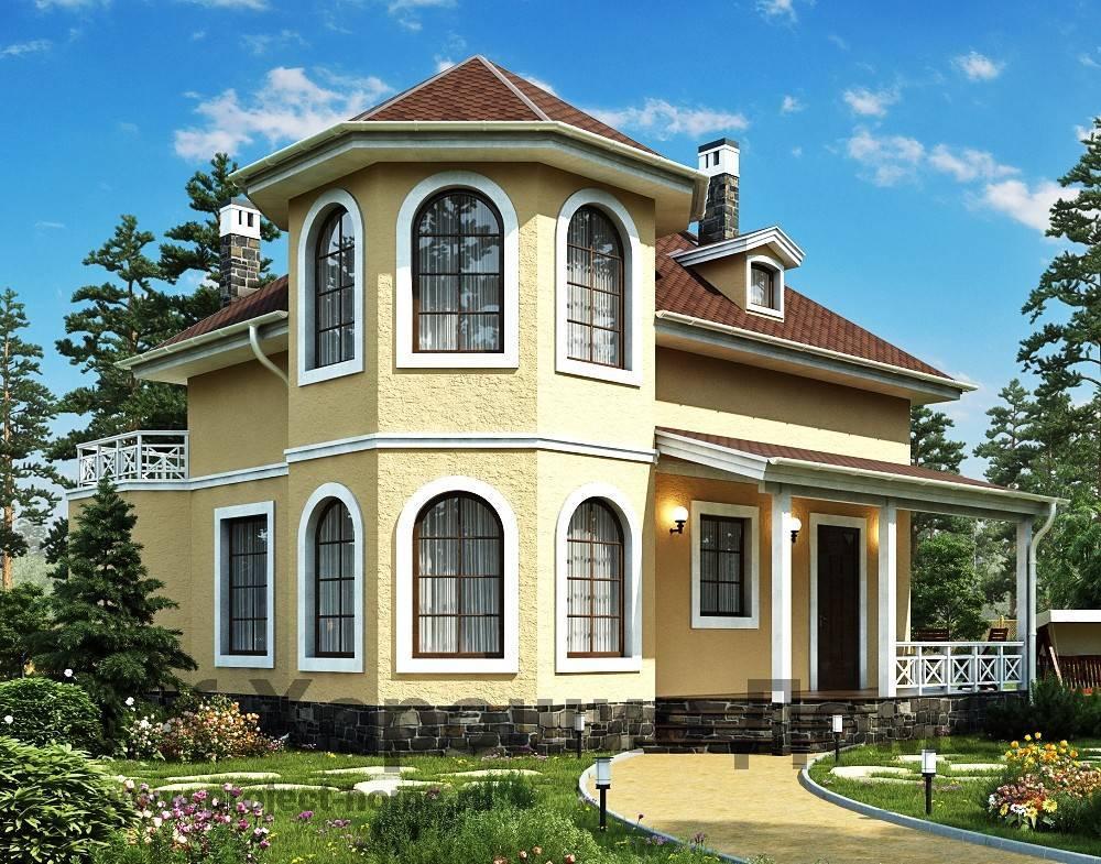 Фото домов с эркером и особенности интерьера