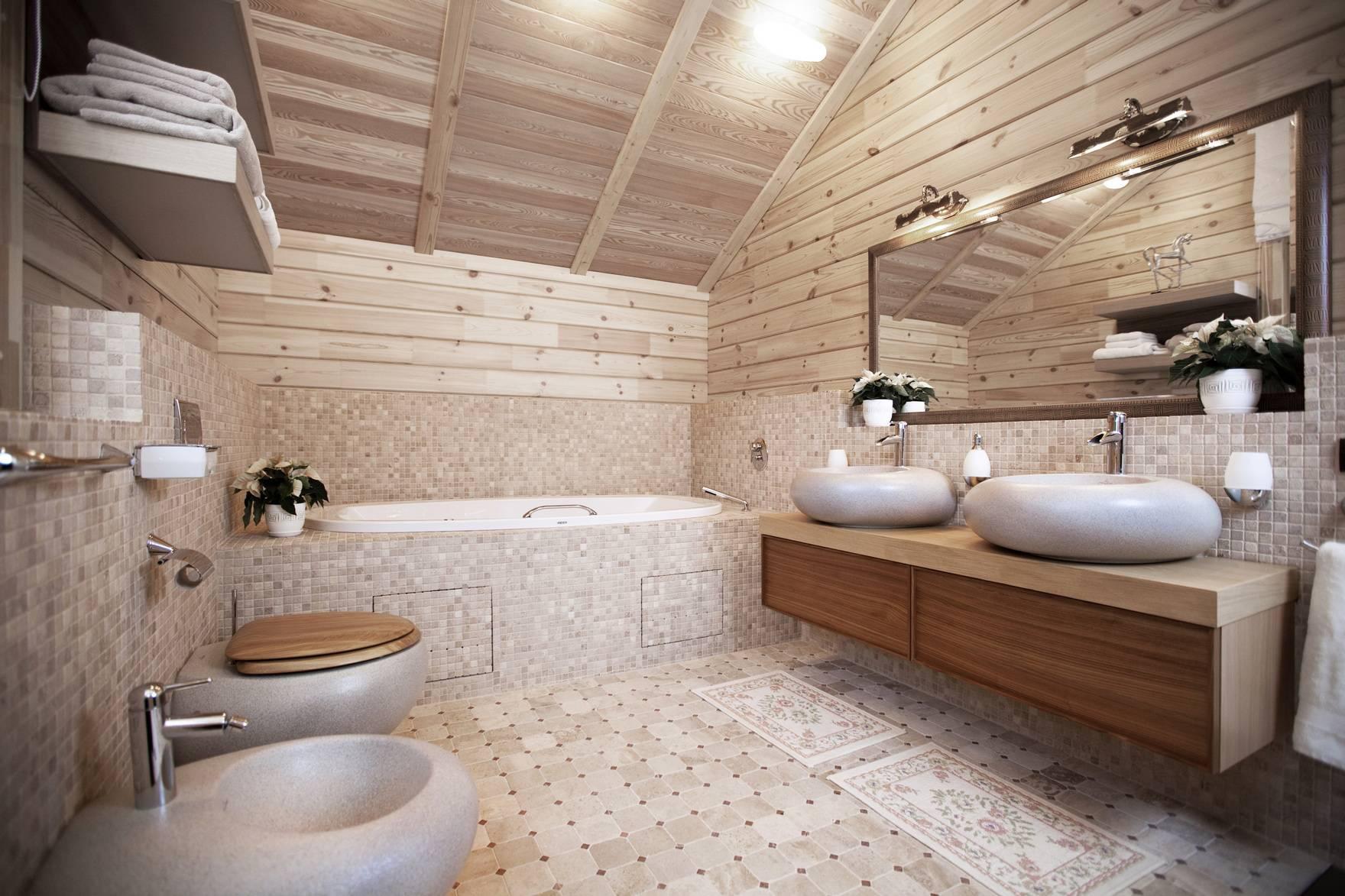 Как сделать ванную в деревянном доме