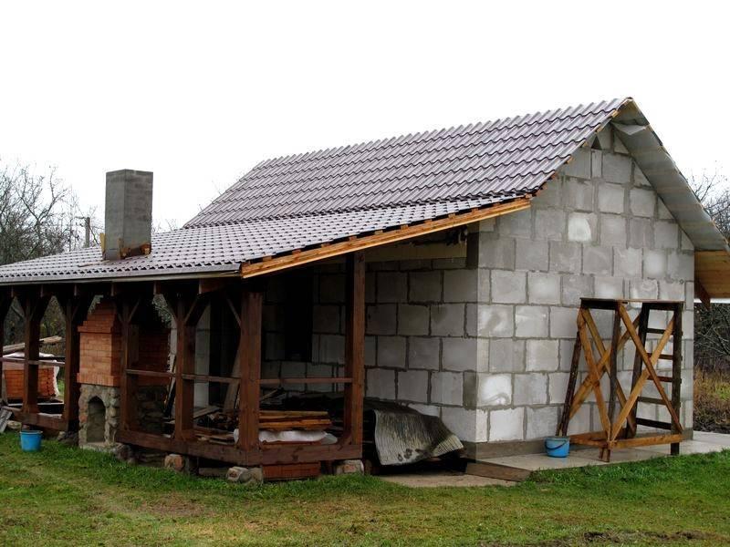 Самые популярные проекты домов из пеноблоков: видео-инструкция как построить своими руками, фото