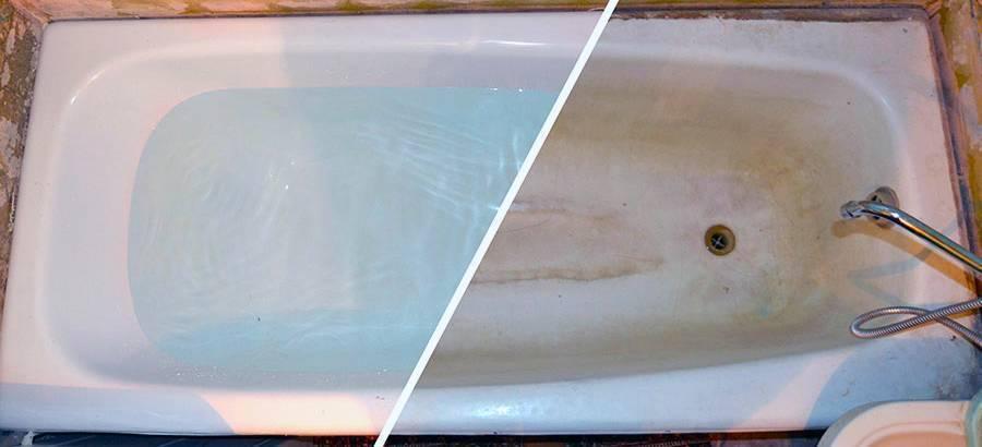 Эмалировка старой ванны своими руками – подробное описание