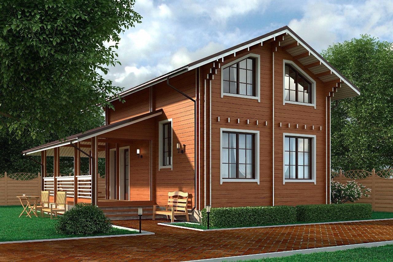Как построить и утеплить дом по финской технологии двойного бруса
