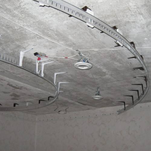 Многоуровневые натяжные потолки: монтаж двухуровневого и цена с подсветкой, как сделать