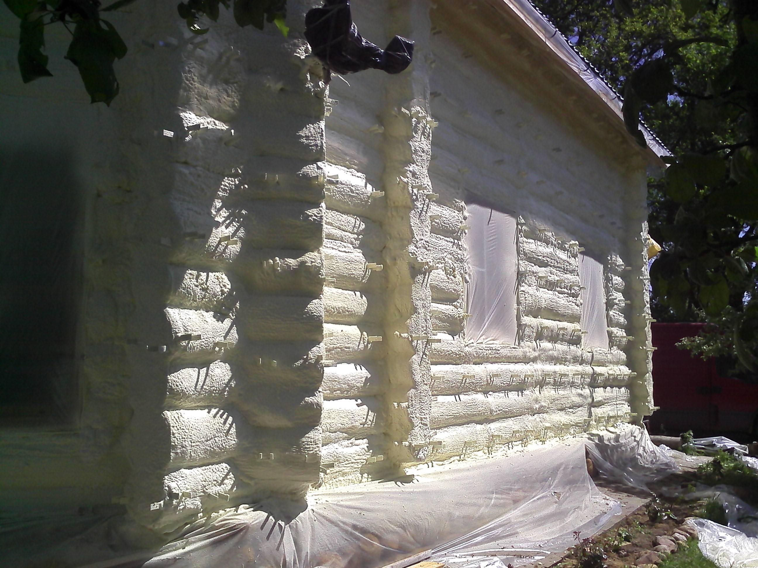 Утепление потолка пенополиуретаном в москве