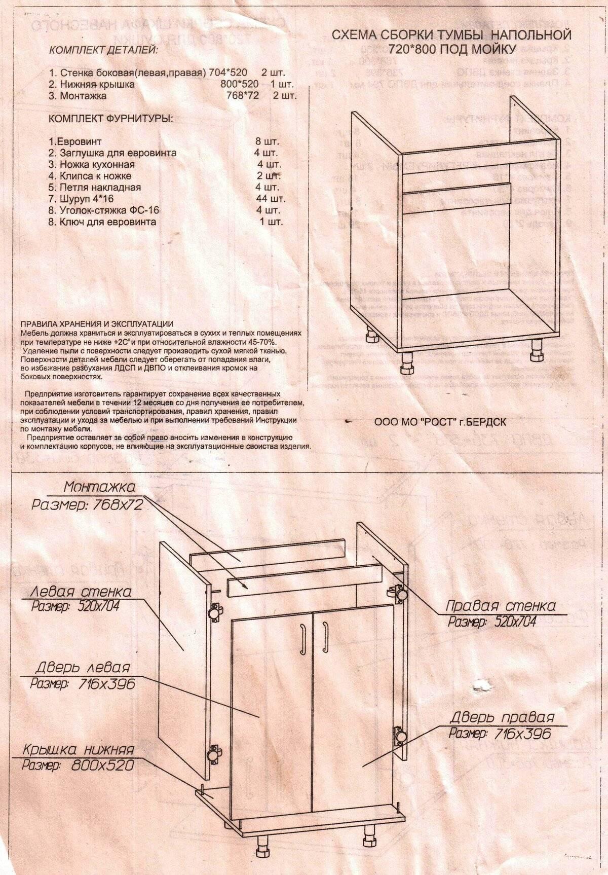 Сборка угловой кухни: установка своими руками. как собрать кухонный гарнитур пошагово?
