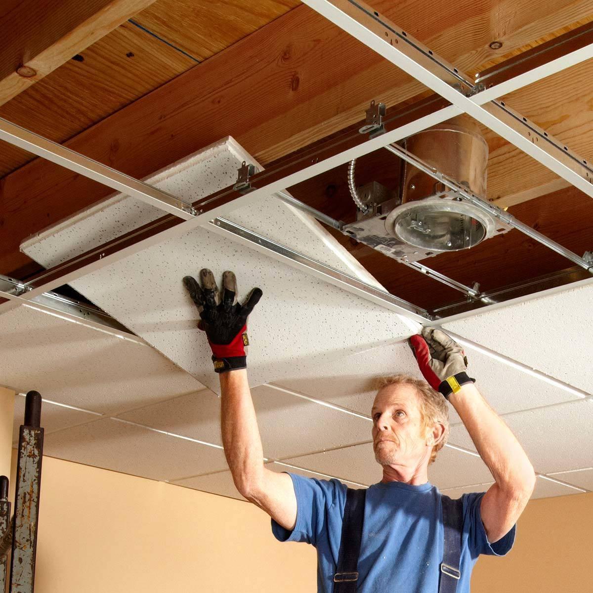 Как своими руками снять натяжной потолок и стоимость демонтажа