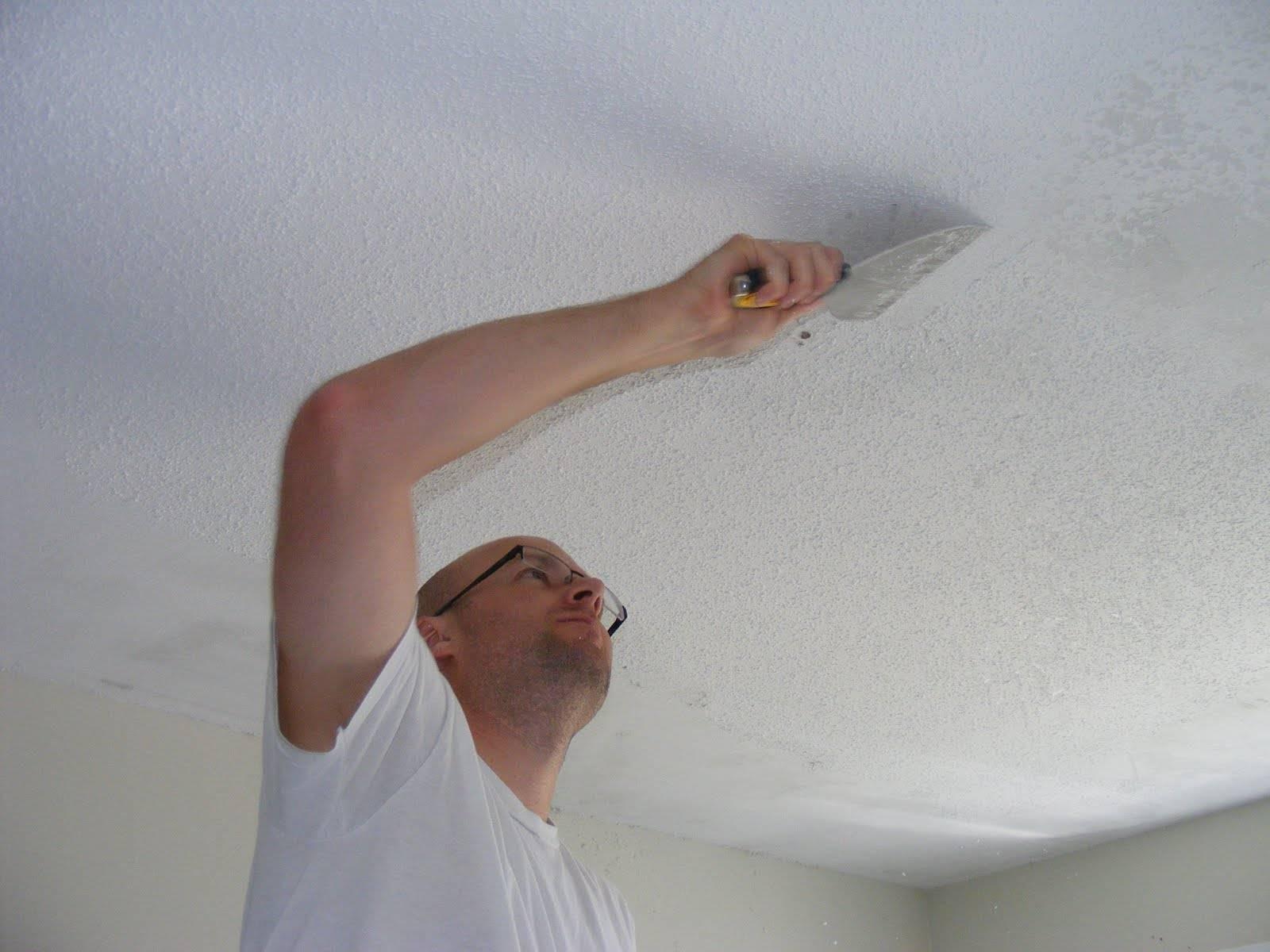 Полная шпаклевка потолка на кухне | ремонт кухни своими руками | remont-kuxni.ru