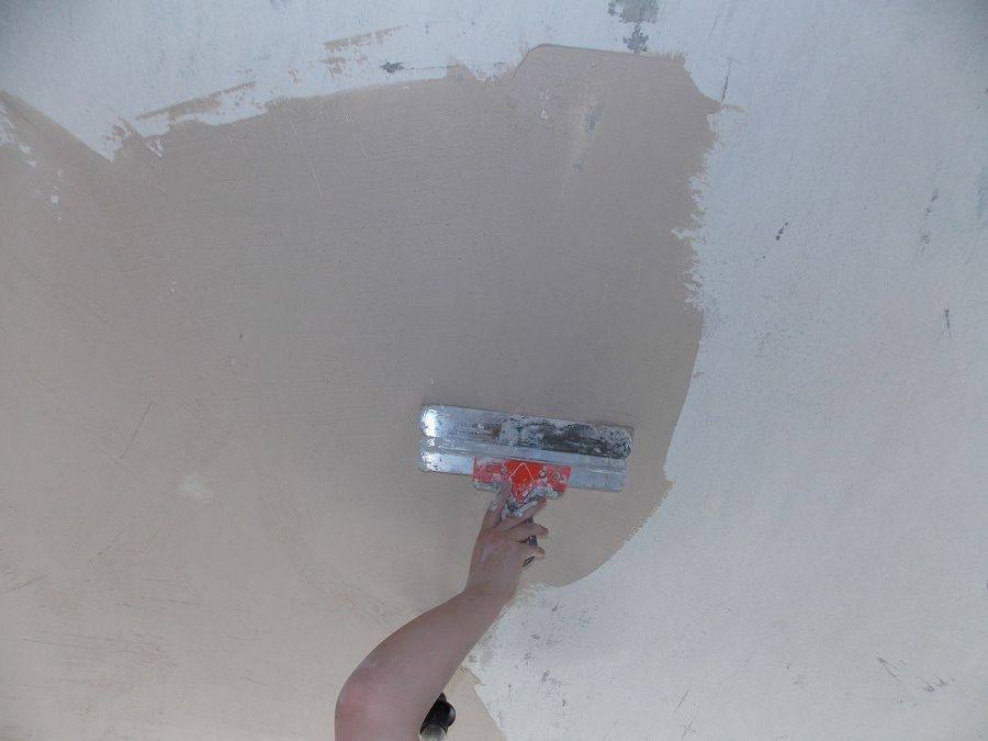 Штукатурка потолка под покраску: потолок — небо над головой