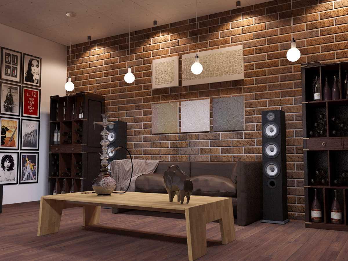 Отделка под кирпич в квартире: декоративное оформление перегородок и стен