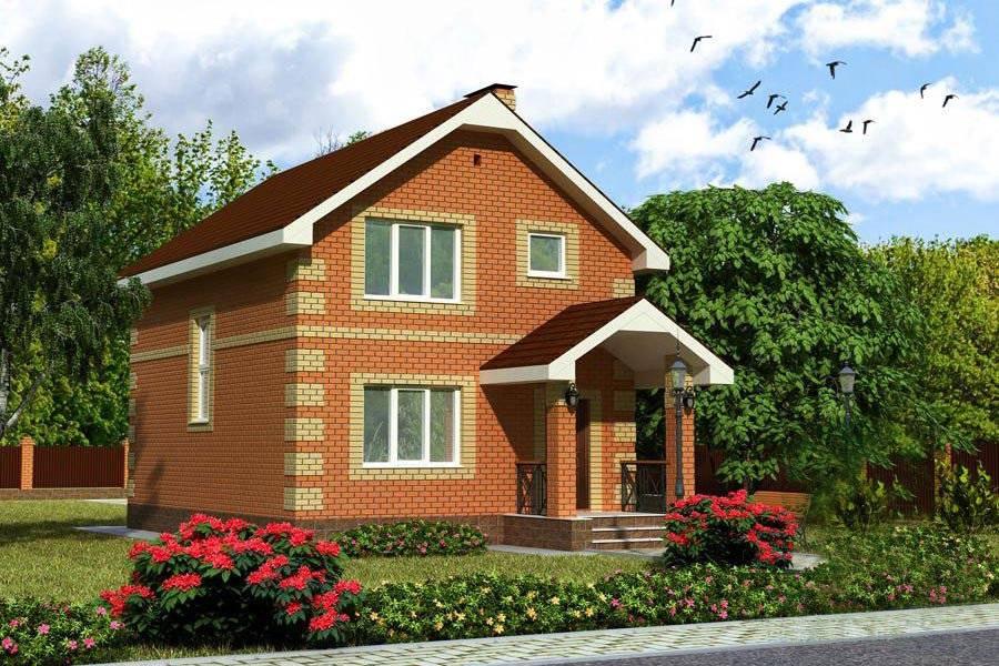 Кирпичные дома маленькие: небольшие проекты из кирпича