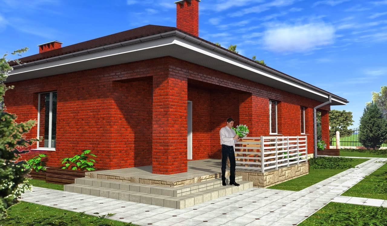 Кирпичные дома (75 фото): проекты и идеи дизайна