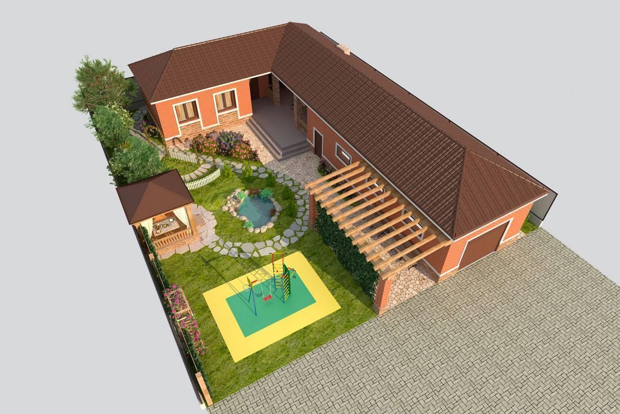 Строительство домов на трех сотках земли