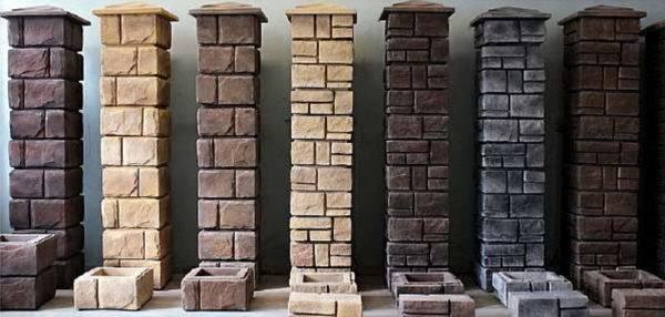 Столбики декоративные из бетона купить буденновск бетон