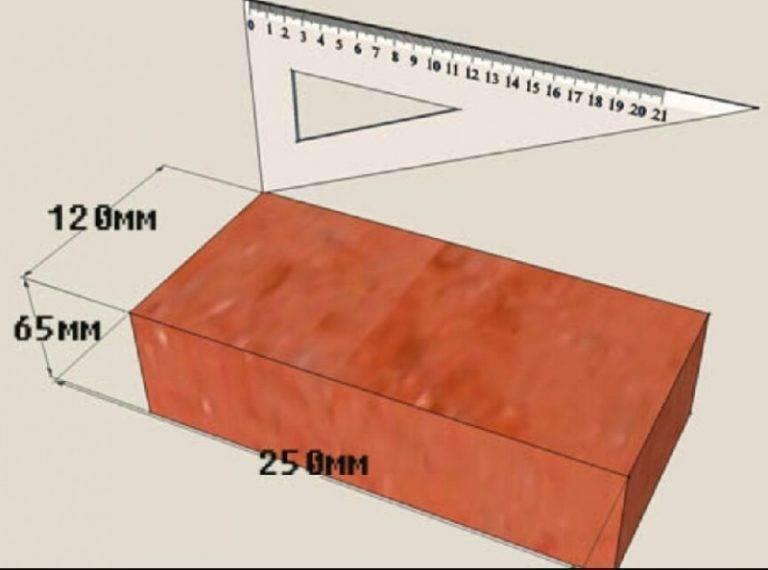 Вес кирпича: красного, полнотелого, силикатного, облицовочного, огнеупорного