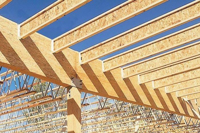 Деревянные двутавровые балки для перекрытий: легкие, прочные, стабильные