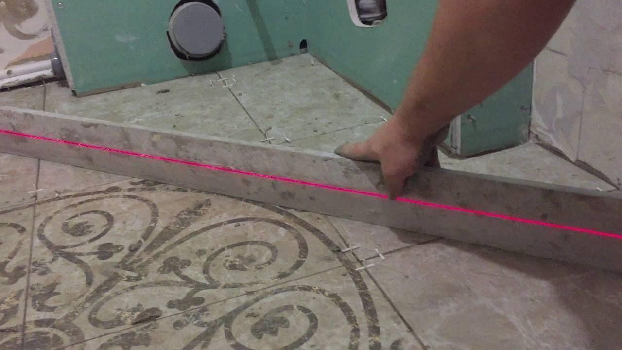 Как правильно пользоваться лазерным нивелиром?