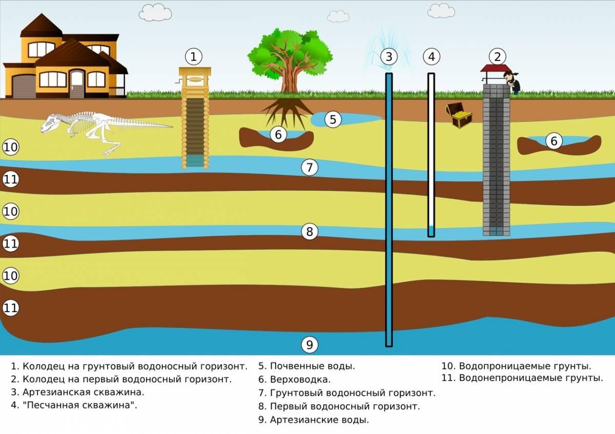 Как найти и проверить воду на участке
