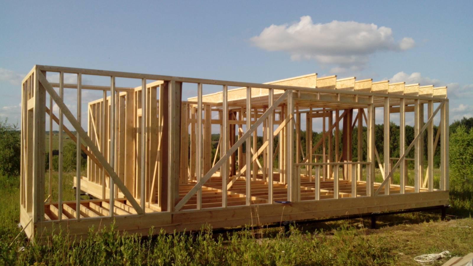 Скандинавская технология строительства каркасного дома: описание, порядок выполнения работ