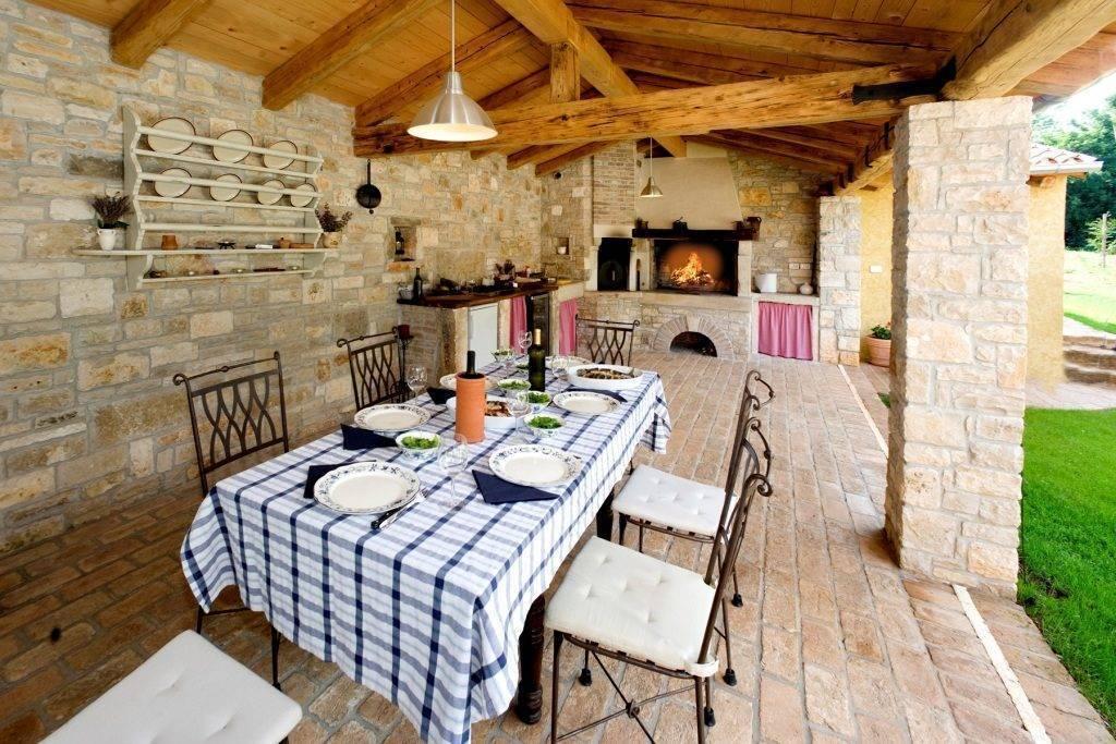 Летняя кухня на даче - 120 фото стильных идей дизайна и их реализация