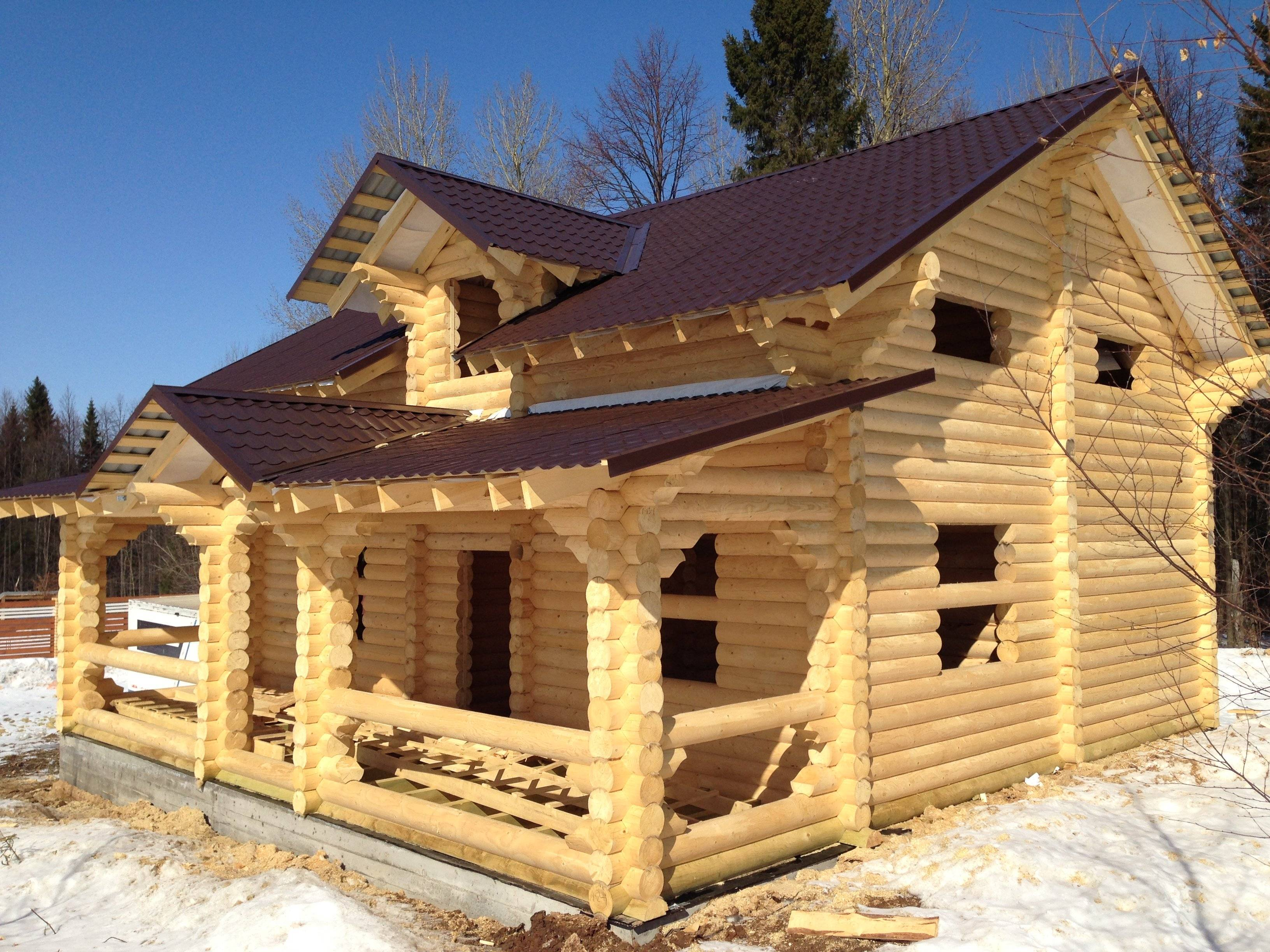 Как построить дом из бревна своими руками - строимсвоимируками.рф