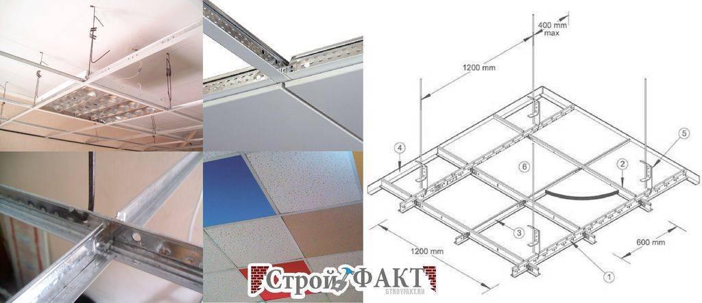 Установка потолка армстронг - как собрать конструкцию своими руками: инструкция, фото и видео