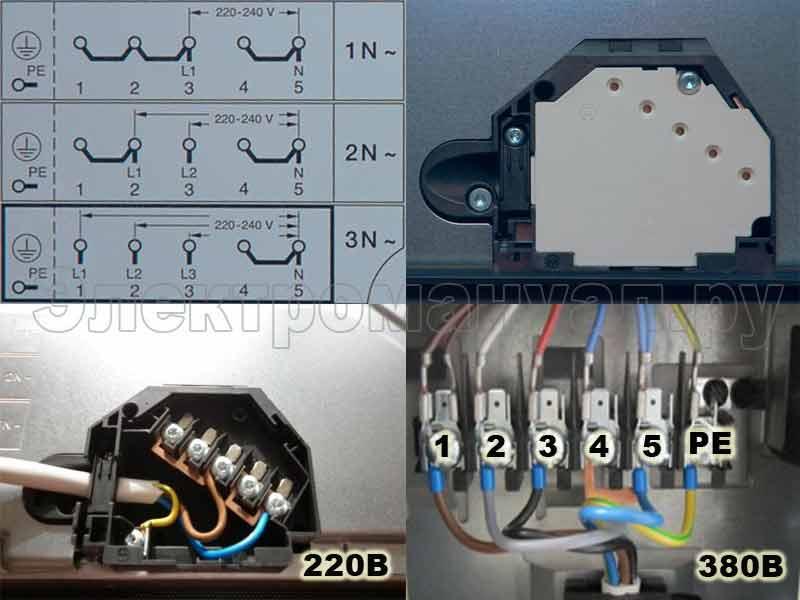 Схема подключения электрической конфорки - tokzamer.ru